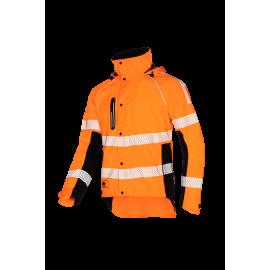Veste de pluie KEIU HV Orange fluo haute visibilité - SIP Protection®