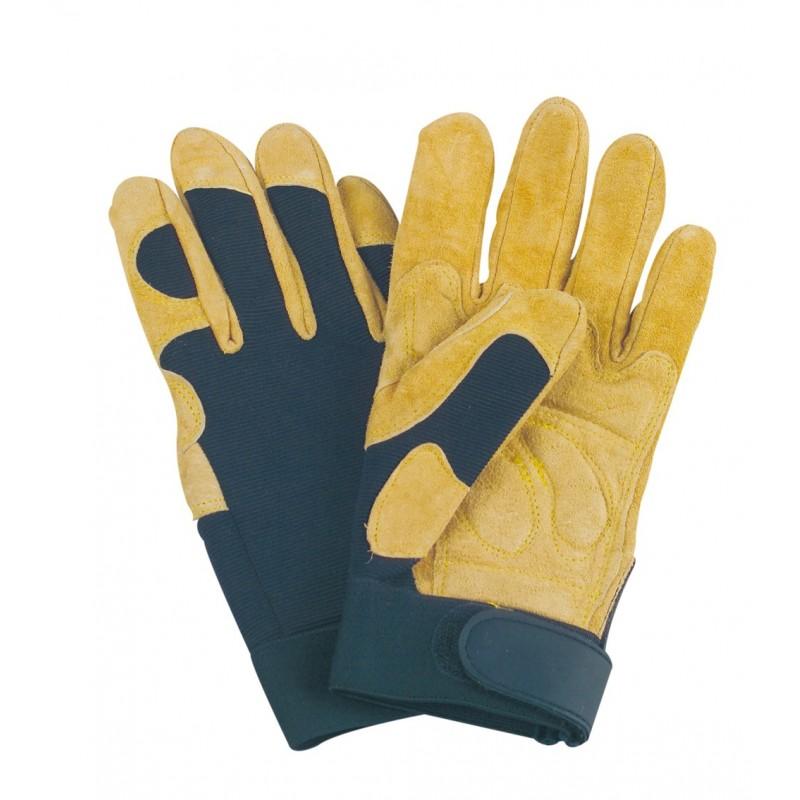 gants textile gants bucheron type poignet francital. Black Bedroom Furniture Sets. Home Design Ideas