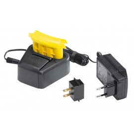 accessoires lampes frontales Accu duo + chargeur eur/us