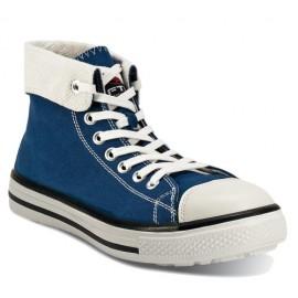 Chaussure-basket de sécurité FTG MUSIC BLUES haute, bleue
