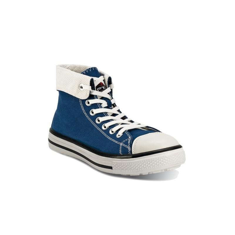 chaussure basket de s curit ftg music blues haute bleue l 39 equipeur. Black Bedroom Furniture Sets. Home Design Ideas
