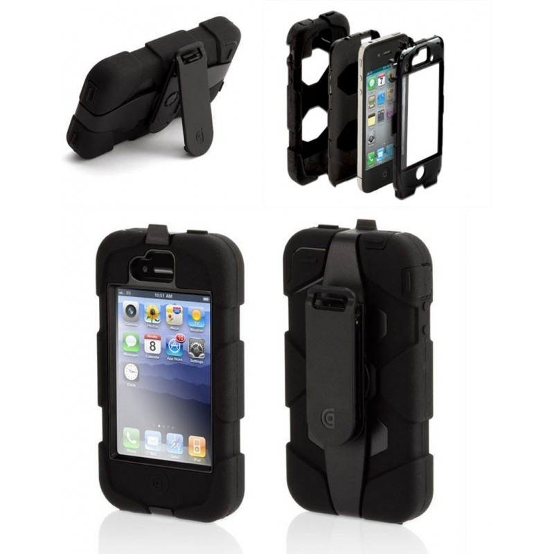 coque incassable pour iphone 4 et 4s survivor l 39 equipeur. Black Bedroom Furniture Sets. Home Design Ideas