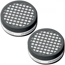 FILTER FOR ANTI-SHOCK CAP WITH POWERCAP FILTER VISOR