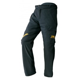 EVEREST ANTI-CUT PANTS BLACK - FRANCITAL