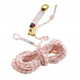 FALL ARRESTER MOBILE ON ROPE 10 OR 20 METERS + ENERGY ABSORBER