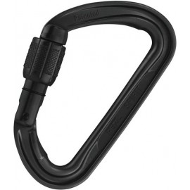 SPIRIT MOUSQUETON SCREW-LOCK NOIR PETZL