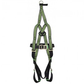 2-POINT FALL ARREST HARNESS WITH EVACUATION STRAP
