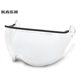 COLOURLESS SCRATCH-RESISTANT VISOR FOR KASK HELMETS
