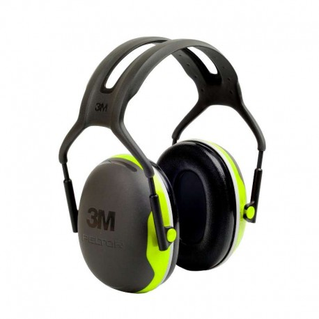 CASQUE ANTIBRUIT EXTRA PLAT PELTOR X4 3M