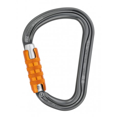 MOUSQUETON WILLIAM PETZL TRIPLE ACTION