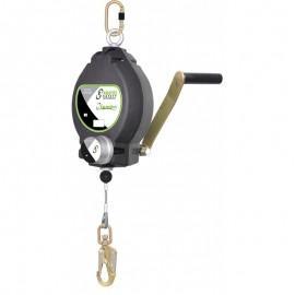 Antichute à rappel automatique avec câble acier galvanisé Lg 30 m