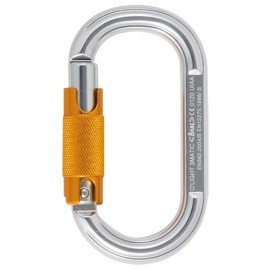 OVAL TRIPLE ACTION ALUMINIUM O'LIGHT CARABINER - BEAL