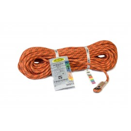 ORANGE ANTIPODE ROPE L'EQUIPEUR ø 10,5 MM FOR ACROBATIC WORK