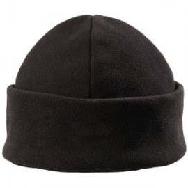 Black fleece cap