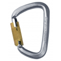 TRIPLE ACTION STEEL CARABINER D STEEL - SINGING ROCK