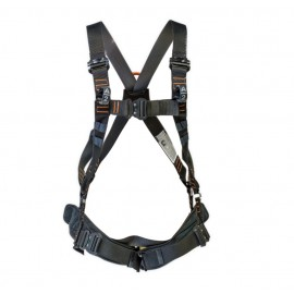 FALL ARREST HARNESS WITH STERNAL QUICK COUPLER