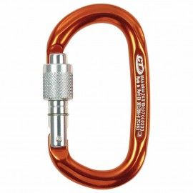 MOUSQUETON PILLAR OVAL ALUMINIUM A VIS CLIMBING TECHNOLOGY