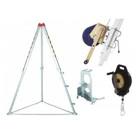 CONFINED SPACE KIT WITH WINCH FOR MATERIAL