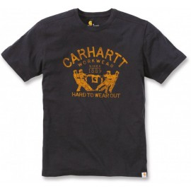 T-SHIRT CARHARTT 100% COTON MANCHES COURTES