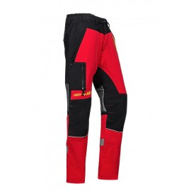 PANTALON CANOPY W-AIR ANTI-COUPURE ROUGE SIP PROTECTION
