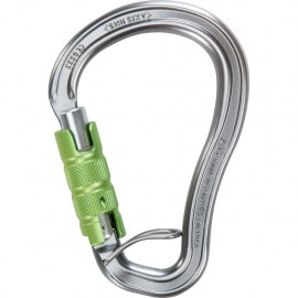 MOUSQETON AXIS TRIPLE ACTION AVEC BARETTE CLIMBING TECHNOLOGY