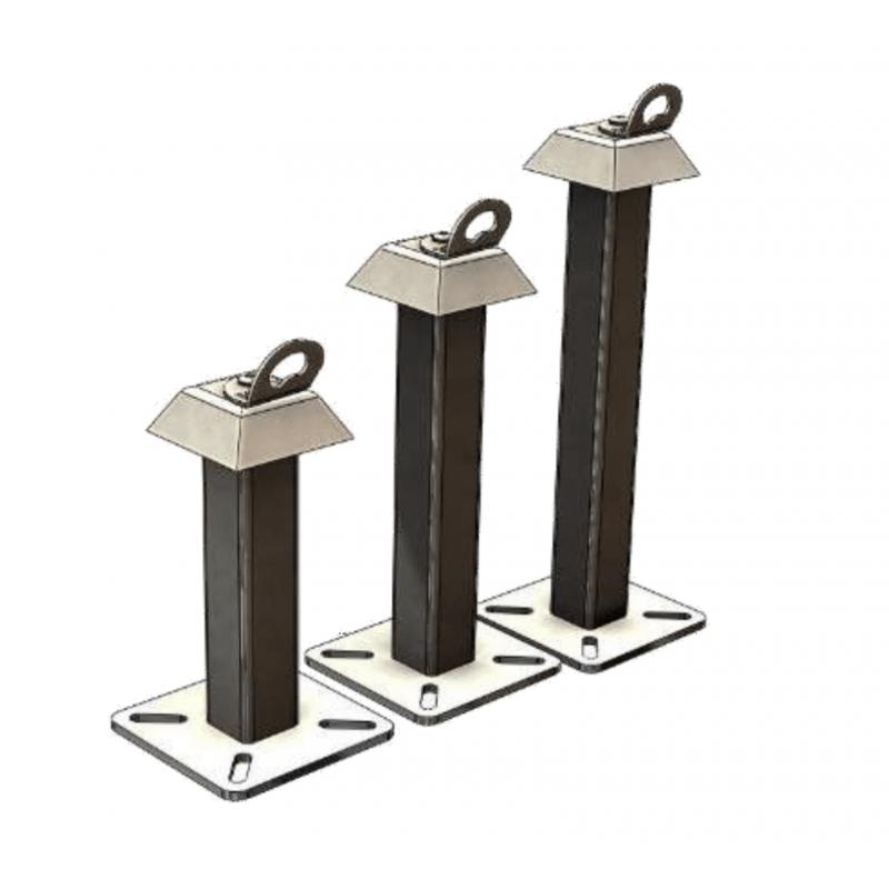 Security Anchor Post For Concrete Slab Or Framework L Equipeur