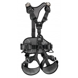 AVAO BOD FAST BLACK HARNESS PETZL VERSION 2018