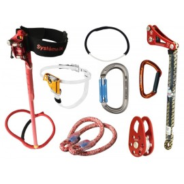 KIT D'ASCENSION EN SRT AVEC SYSTEME 3A ET ROPEWRENCH