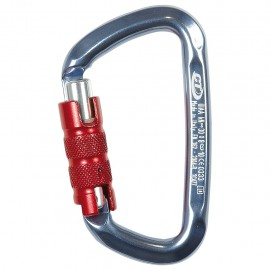 MOUSQUETON D-SHAPE ALU TRIPLE ACTION CLIMBING TECHNOLOGY