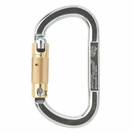OVAL AUSTRIALPIN CARABINER XL TRIPLE ACTION STEEL