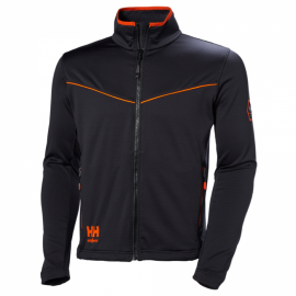 CHELSEA EVOLUTION STRETCH MIDLAYER JACKET - HELLY HANSEN