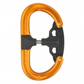 Mousqueton FIFTY:FIFTY orange - AUSTRIALPIN