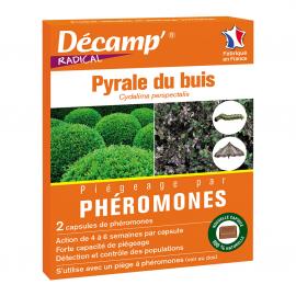 Phéromones spéciales Pyrale du buis
