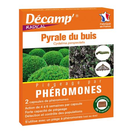 Piège à phéromones pour pyrale du buis