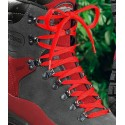 RED SHOELACES MEINDL SHOES