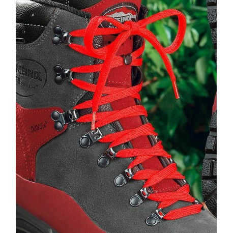 LACETS ROUGES CHAUSSURES MEINDL