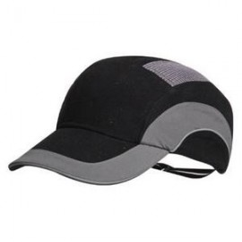 BLACK ANTI-SHOCK CAP HARDCAP SHORT VISOR