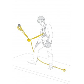 KIT ASAP VERTICAL LIFELINE - PETZL