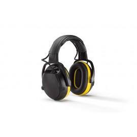 CASQUE ANTIBRUITS ACTIVE SNR 30 dB COMMUNICAITON TALKIE-WALKIE - HELLBERG