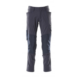 NAVY BLUE STRETCH TROUSERS - MASCOT