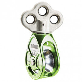PULLEY WITH SWIVEL ROOK - NOTCH