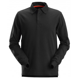 Polo rugby Manches Longues Snickers Noir