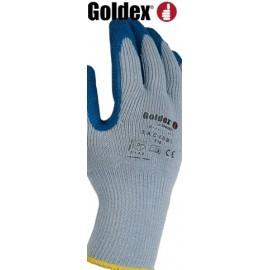 POLYESTER GLOVES, LATEX COATED (set of 10 pairs)