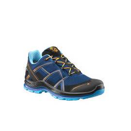 CHAUSSURES HAIX BLACK EAGLE 2.1 LOW BLEU MARINE/ORANGE