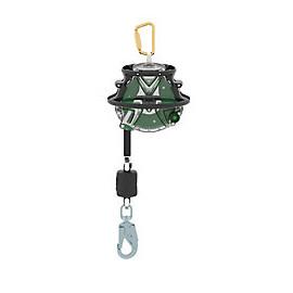 ANTICHUTE A RAPPEL AUTO + PROTECTION CIRCULAIRE V-EDGE 10m CABLE