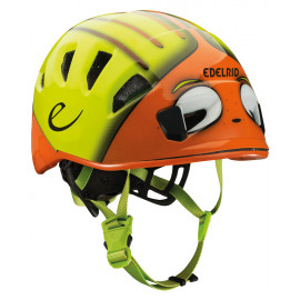 CASQUE DE LOISIR ENFANT EDELRID KID'S SHIELD ORANGE/VERT T48-56CM
