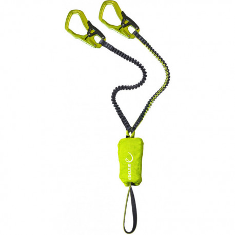LONGE DOUBLE VIA FERRATA EDELRID CABLE KIT 5.0