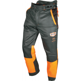 PANTALON AUTHENTIC EN381-5 TYPE A CLASSE 1 GRIS/ORANGE