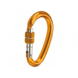 HMS COMPACT CARABINER SCREW COLOR CAMP