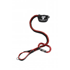 LEAD ROPE ANTISHOCK TOOL LANYARD CHAINSAW HOLDER WITH CARABINER - TEUFELBERGER